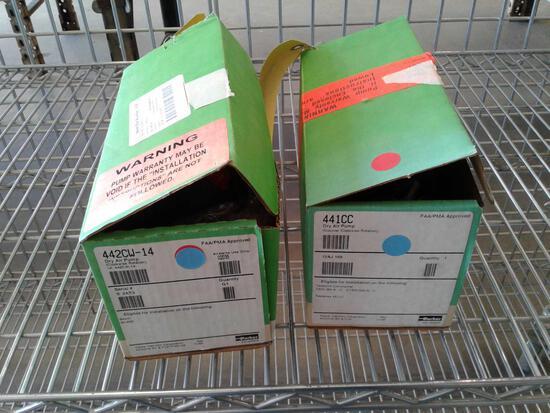 NEW DRY VAC PUMPS, 442CW-14 & 441CC