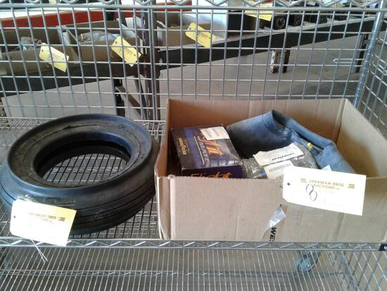 NEW 18 X 4.4 HIGHSPEED NOSE TIRE & INNER TUBES OF VARIOUS SIZES