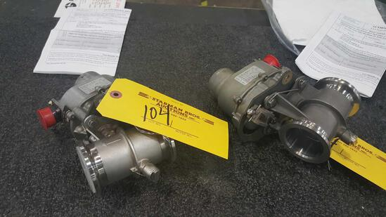 CARGO HEATING VALVE 2780536-101 ( 1 REPAIRED & 1 INSPECTED)