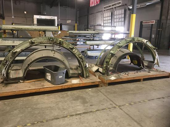 767 THRUST REVERSER SECTIONS 315T4014-134A & -65A (INCOMPLETE) NO TRACE