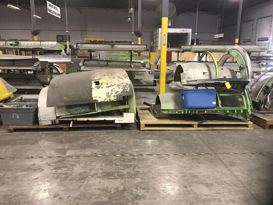 (3) INCOMPLETE THRUST REVERSER SECTIONS, 315A1001-581A, 740-0002-689 & 745-0002-511 (ALL INCOMPLETE)