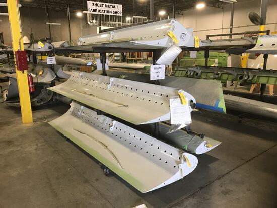 MD-11 SLATS, NRB6733-501, NRB6731-2, (3) NRB6027-511, & NRB6735-502, (SOME WORK ACCOMPLISHED)