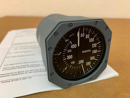 FALCON 50 THOMSON-CSF MACH AIRSPEED INDICATOR 64032-229-1 (OVERHAULED)