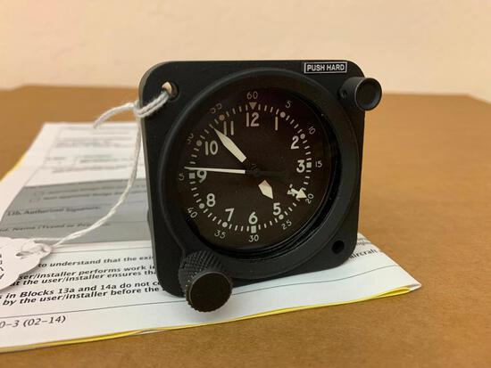 AEROSONIC MECHANICAL CLOCK 86400-1163 (OVERHAULED)