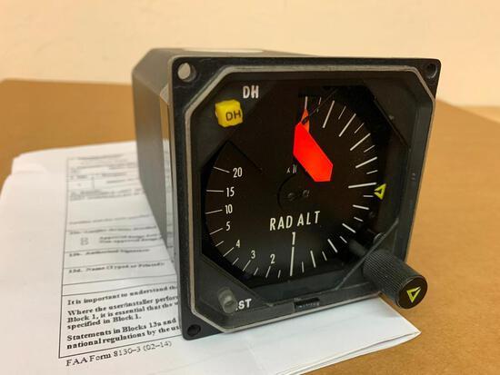 COLLINS 339H-4A RADIO ALTIMETER INDICATOR 622-1205-003 (OVERHAULED)