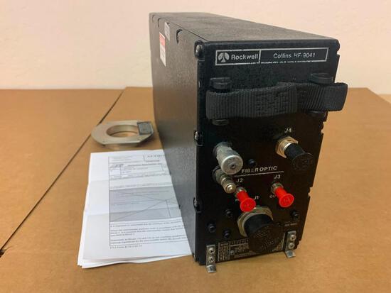 COLLINS HF-9041 HF ANTENNA COUPLER 622-8114-002 (OVERHAULED)