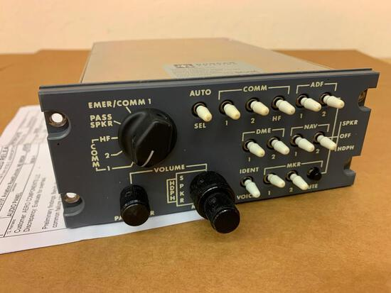 AVTECH AUDIO CONTROL PANEL 5630-1 (OVERHAULED)
