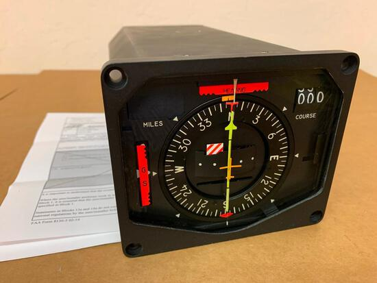 COLLINS 331A-9G HORIZONTAL SITUATION INDICATOR 792-6091-021 (OVERHAULED)
