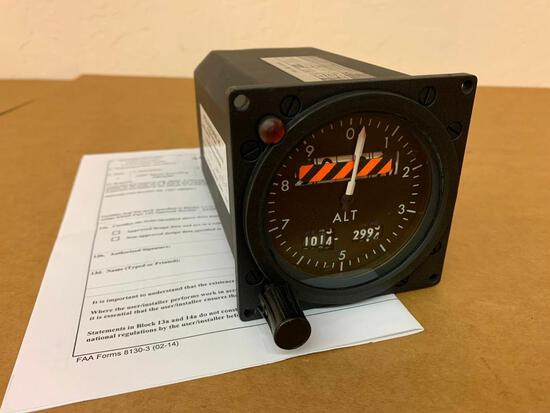 SMITHS SERVO ENCODING ALTIMETER WL/1407AM/MS/1 (INSPECTED)