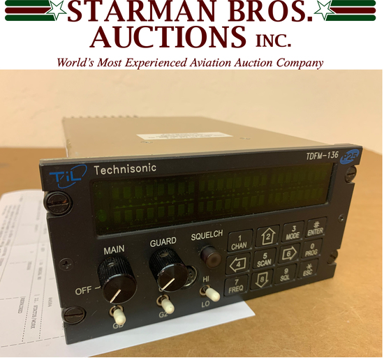 ONLINE ONLY AVIONICS & TEST EQUIPMENT AUCTION DAY2
