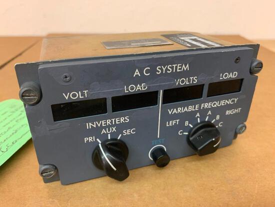 DHC-8 AMETEK AC POWER MONITOR 522808 [ALT: 8SC0072] (NEEDS REPAIR)