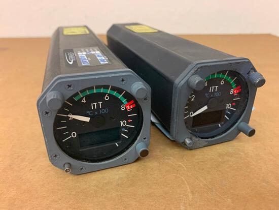 DHC-8 AMETEK ITT INDICATOR (1) 10168N01T00, (1) SEL-0C19DW [ALT: 8SC0055] (AR)