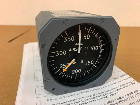 CASA CN-235 THOMMEN AIRSPEED INDICATOR 5C16.42.35K.05.1.D (OVERHAULED)