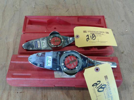 SNAP-ON INCH/ LB TORQUE WRENCHES