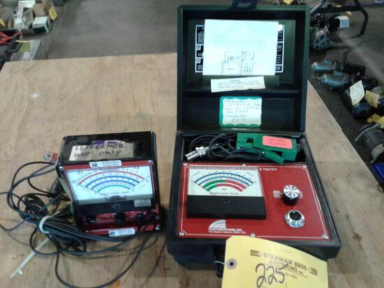 ES-1200 ALTERNATOR TESTER & MULTIMETER (DAMAGED CASE)