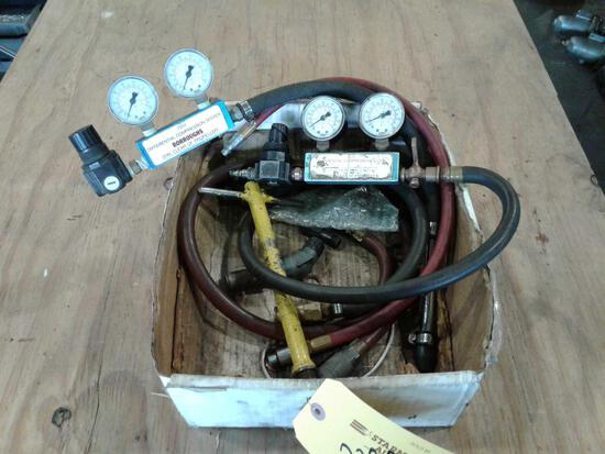 (2) BURROUGHS DIFFERENTIAL COMPRESSION TESTERS