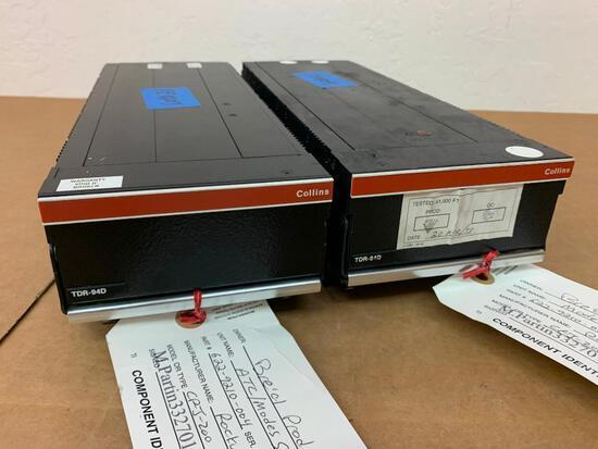 COLLINS TDR-94D ATC/MODE S TRANSPONDERS 622-9210-004