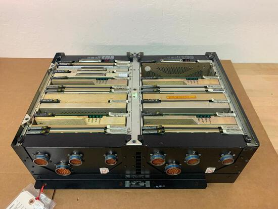 COLLINS ICC-4004 IAPS CARD CAGE W/CARDS 822-0198-001