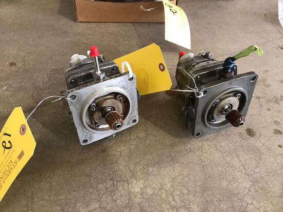 S76 HYDRAULIC PUMPS 76650-09808-102/63143-01 (BOTH REPAIRABLE/REMOVED FROM TEAR DOWNS)