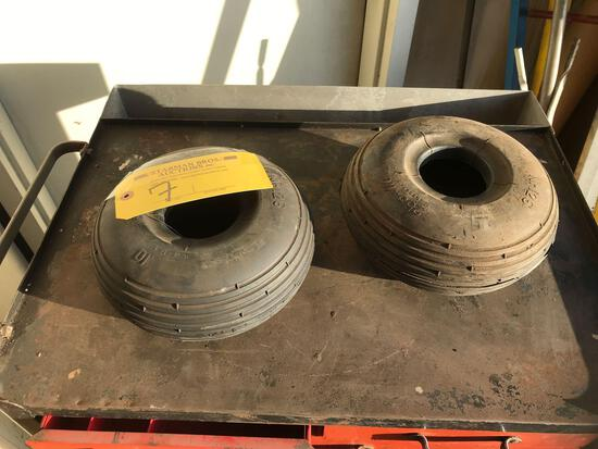 255 X 10 S.C. TAIL WHEEL TIRES
