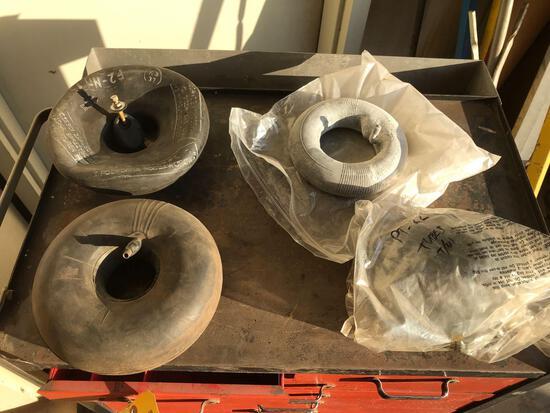 (5) TIRE TUBES (VARIOUS SIZES)