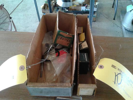 BOXES OF NEW & USED ROD ENDS