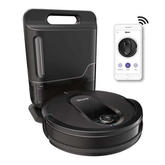 Shark IQ R101AE with Self-Empty Base, Wi-Fi Connected, Home Mapping, Works with Alexa, Ideal for Pet