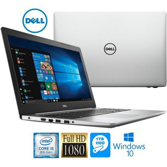 "Dell Inspiron 15.6"" Touchscreen Notebook - Intel Core i5 - 8GB - 1TB - Intel UHD Graphics 620 - Wind"