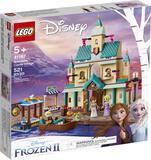 LEGO Disney Frozen II Arendelle Castle Village 41167 Toy Castle Building Set with Popular Frozen Cha