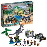 LEGO Jurassic World Baryonyx Face-Off: The Treasure Hunt 75935 Toy Dinosaur Building Kit 434pc