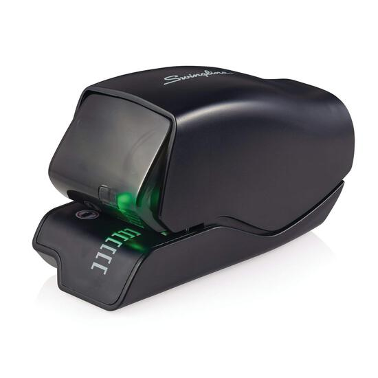 Swingline Electric Stapler, 502e Desktop, 25 Sheet Capacity, Jam Free, Black (s7050202)