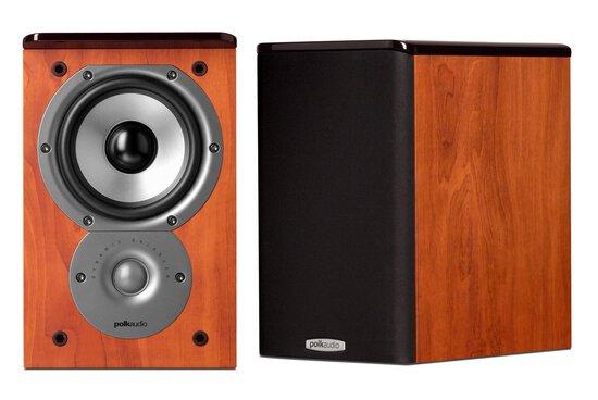 Polk Audio Tsi100 Bookshelf Speakers (pair, Cherry)