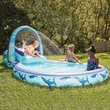 Member's Mark Inflatable Park Pool & Slide - Shark