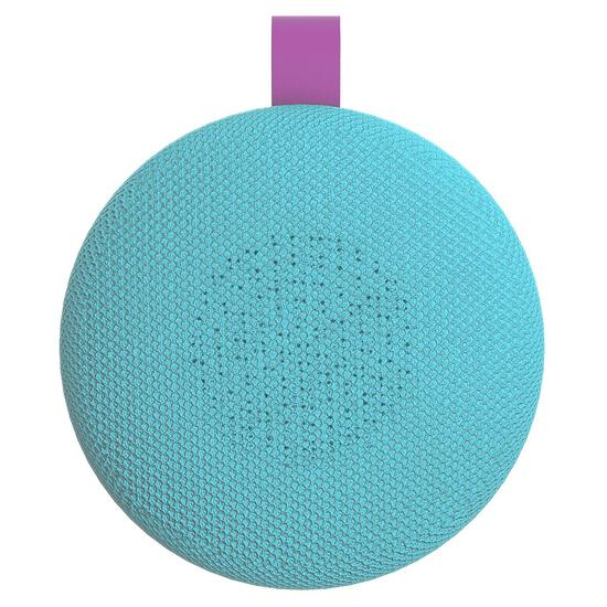 Aduro Wireless Portable Bluetooth Speaker (Turquoise/Purple)