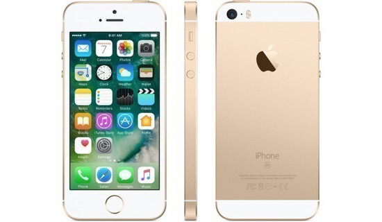 Apple Iphone Se 128 Gb -rose Gold- Model: MP812LL/A(A1662)