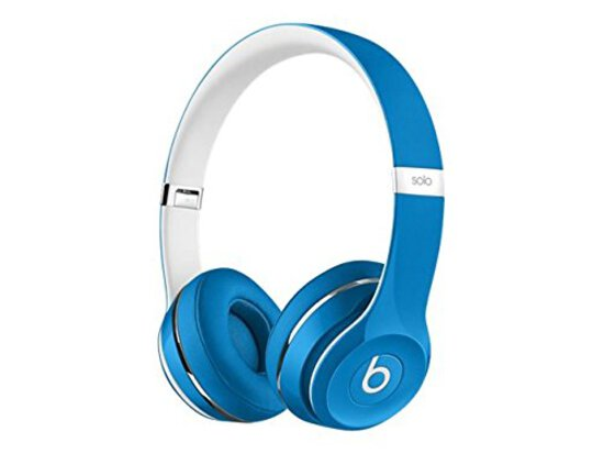 Beats Solo2 Wired On-Ear Headphone, Luxe Edition - Blue
