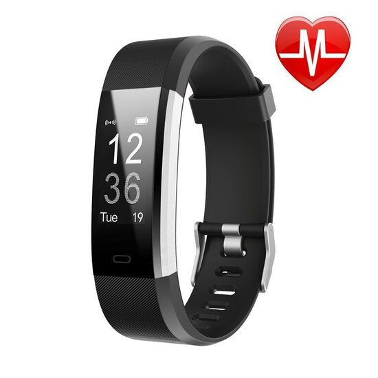 LETSCOM Fitness Tracker HR, Activity Tracker Watch with Heart Rate Monitor.