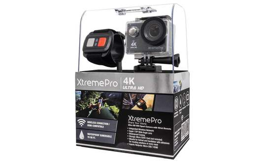 Xtremepro 4k Wifi Ultra Hd Sport Camera & Wrist Remote - Black