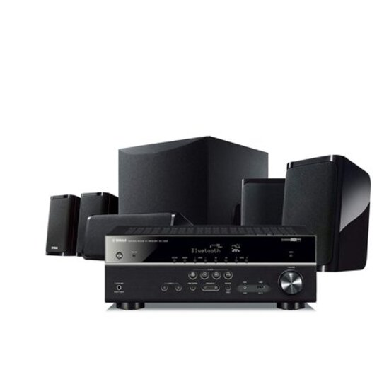 Yamaha - YHT-5950U 5.1-Ch. Hi-Res Home Theater Speaker System - Black