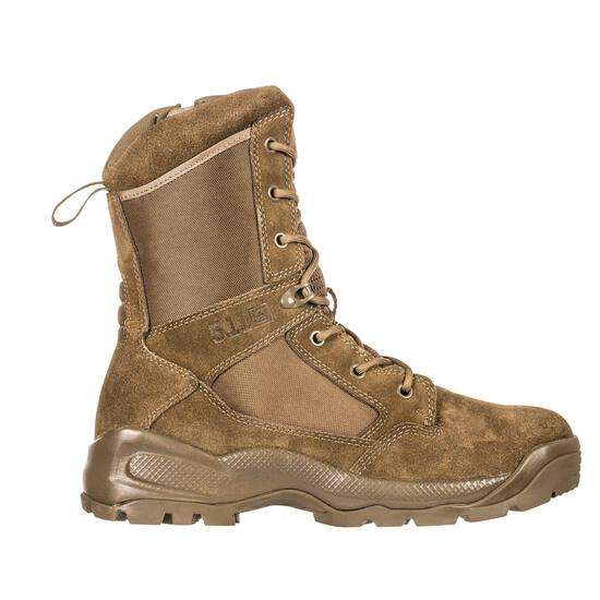 """5.11 Men's ATAC 2.0 8"""" Tactical Side Zip Military Boot, Style 12393, Dark Coyote, size 14"""