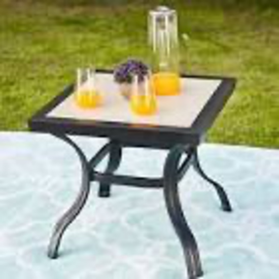 Patio Festival Outdoor Steel Dining Table