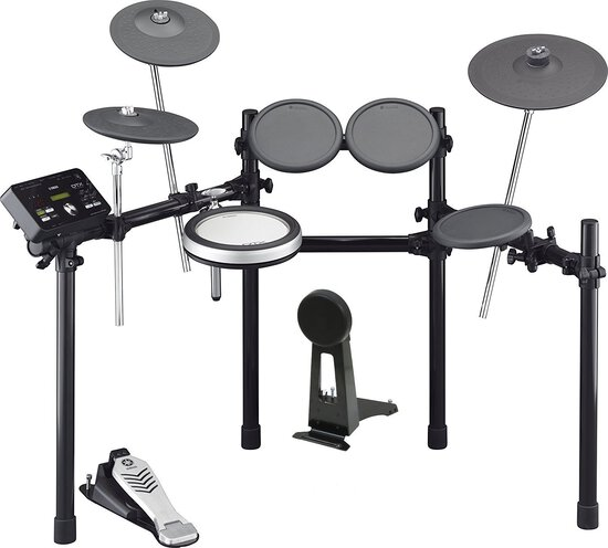 Yamaha DTX522K Customizable Electronic Drum Kit with 3-Zone Textured Silicone Snare Pad