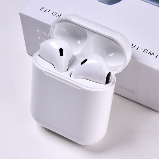 TWS i12 Earbuds Bluetooth 5.0 Earphones(White)