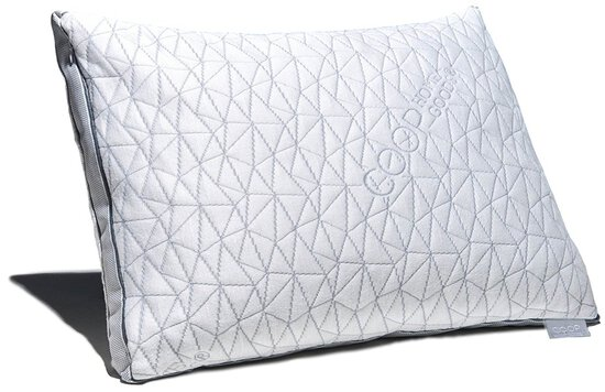 Coop Home Goods - Eden Shredded Memory Foam Pillow with Cooling Cover-Queen