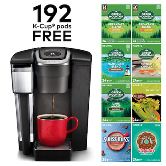 Keurig K1500 Bundle K-Cup Coffee Maker with Variety Pack of 192 K-Cup Pods 24375278