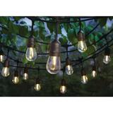 Hampton Bay 24-Light Indoor/Outdoor 48 ft. String Light with S14 Single Filament LED Bulbs
