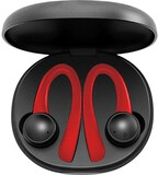 Jarv Active Motion Wireless Bluetooth 5.1 Stereo Earbuds - Red/black
