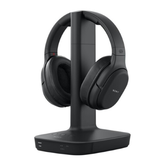 Sony - WH-L600 RF Digital Surround Wireless Headphones - Black