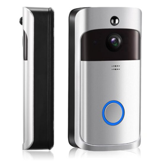 iMountek WiFi Video Doorbell Wireless Door Bell 720P HD WiFi Security Camera