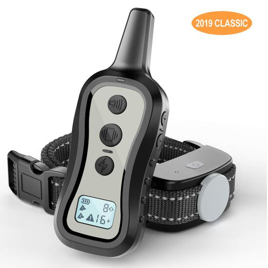 PATPET Dog Training Collar- Dog Shock Collar with Remote